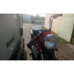 Porte moto pour Charly sur boule ou crochet d'attelage